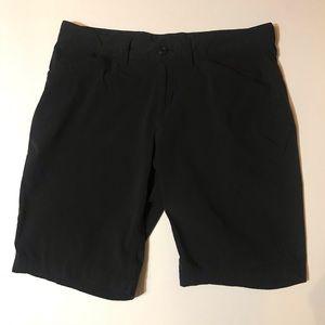 Black Eddie Bauer lightweight hiking shorts EUC